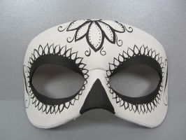 Day of the Dead flower mask by maskedzone