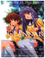 Clannad Flier by magickmaster