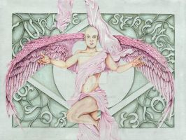 Angel of Breast Cancer by Fullmoon-rose