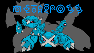 Metagross Background by JCast639