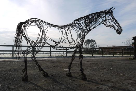 Horse by HubcapCreatures