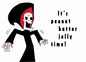 Its peanut butter jelly time by Humikota