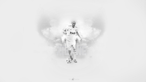 Zinedine Zidane Wallpaper by JandoDC