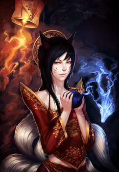 League of Legends: Foxfire Show by ae-rie