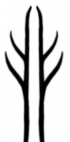 Gandalf Tree Symbol Tattoo by nirnaethedhellen