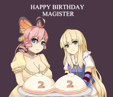 Happy Birthday Magister by dragonfire133