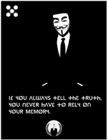 If You Always Tell The Truth by xxWeAreAnonymousxx