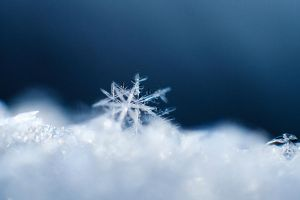 Snow flake macro by willos2