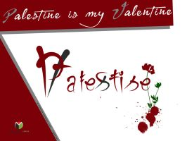 palestine is my valentine by m-houshieh