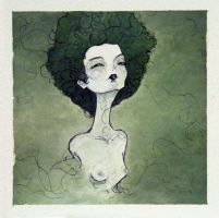 green girl by passinglife