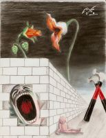 Pink Floyd The Wall by Lockox2