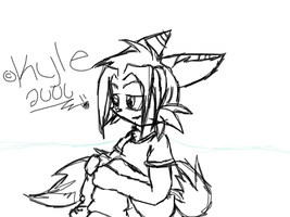 New Kyle 4-1-06 by Kyle-the-hedgehog