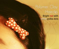 Polymer Clay Hairclip 2 by MsPastel
