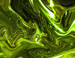 Shiny greenish glop by dylanthedestroyer
