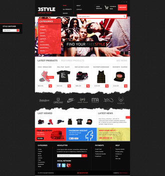3STYLE hiphop shop by davidpstone