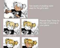Photoshop Coloring Tutorial by golden-slumber