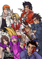 Rival Schools Color by 0-Pau-0