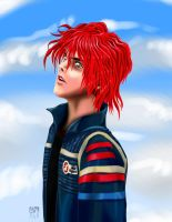 Gerard Way - Party Poison by applejaxshii