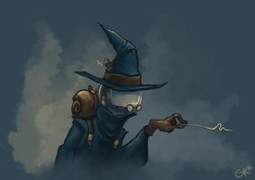 the Wizard by gregorKari