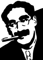 Groucho Marx by vaudeville-comedy
