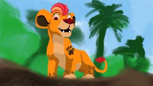 Lion Guard painting by Samoht-Lion