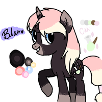 Blair the Witch Pony by ChickenNuggetGalaxy