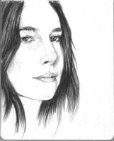 Danielle Haim sketch by Ohforcryingoutloud