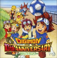 Digimon 10th Anniversary Cd by digi-kingdom-fantasy