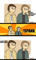 SPN:LESSONS FROM THE PIZZA MAN by HYUMAN