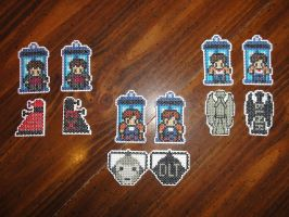 Doctor Who mobiles by Sew-Madd