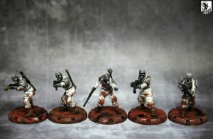 Axis Recon Grenadiers -front by Ghrik