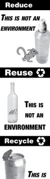 Reduce Reuse Recycle by Chris-T