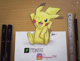 Pika Pi.. by Ppoint555