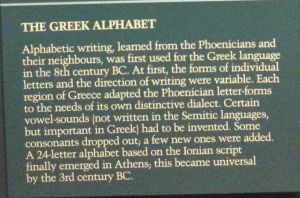 The Greek Alphabet Summary by mykklaw