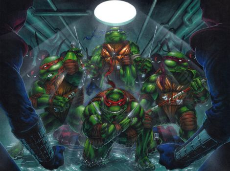 Heroes in a Half Shell, Turtle Power! by PeejayCatacutan