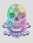 SugarSkullVengeanceGraphicApparel by GriffonGore