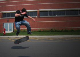 Nick's Kickflip 'The_Nickflip' by OnlyAppearStupid