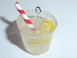 Fimo lemonade drink by ImagenedRose