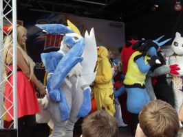 Pokemonday 2012 Oberhausen cosplay contest by shadowhatesomochao