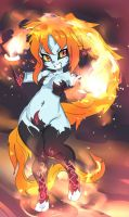 Midna Fire by ManiacPaint