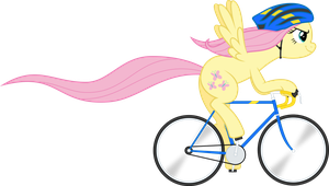 Fluttershy - Ride to Conquer Cancer by VladimirMacHolzraum