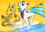 Splash! by ScytheaAndLanarkine