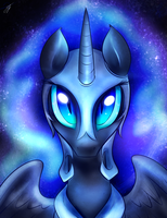 Nightmare Moon by kyodashiro