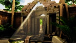 Angkor Gate by JV-Andrew