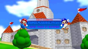 SuperMarioGlitchy4's New YT Banner (if could) by Irham7762