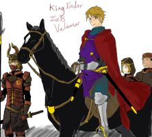 King Ender Ixis Valamor by 13thprotector