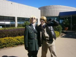 England and America-ShadoCon 2011 by FinnahShella