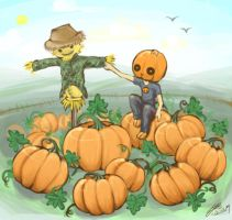 Hello Mr Scarecrow by Quisik