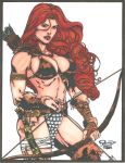 Red Sonja by Ron Adrian by Luzproco