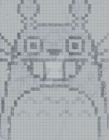 Graphed Totoro by SkyHighFae